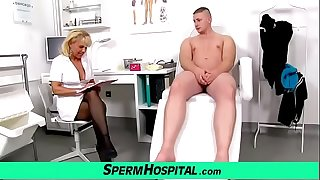 Doctor patient role play with hot chick Koko Margit
