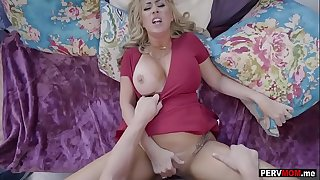 I cant go long without my big knockers mature stepmom