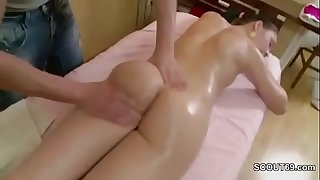 Brother Seduce his sister to Fuck With Rubdown